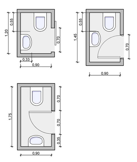 Small Half Bathroom Floor Plans Types Of Bathrooms And Layouts