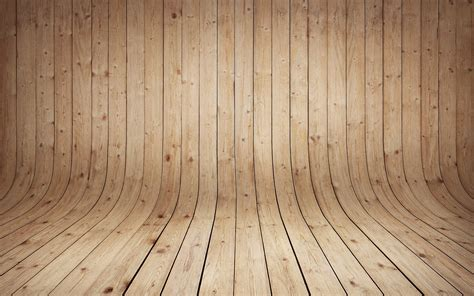 Floor X by Wooden Curved Floor Wallpaper 24697