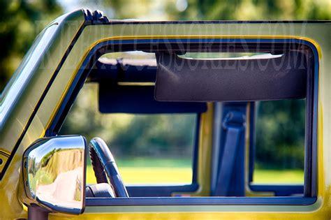 jeep side window visor black eklps