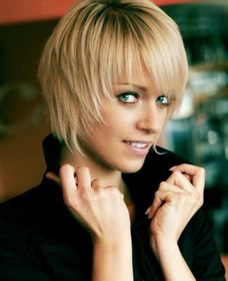 shortcuts for heavy women short hairstyles