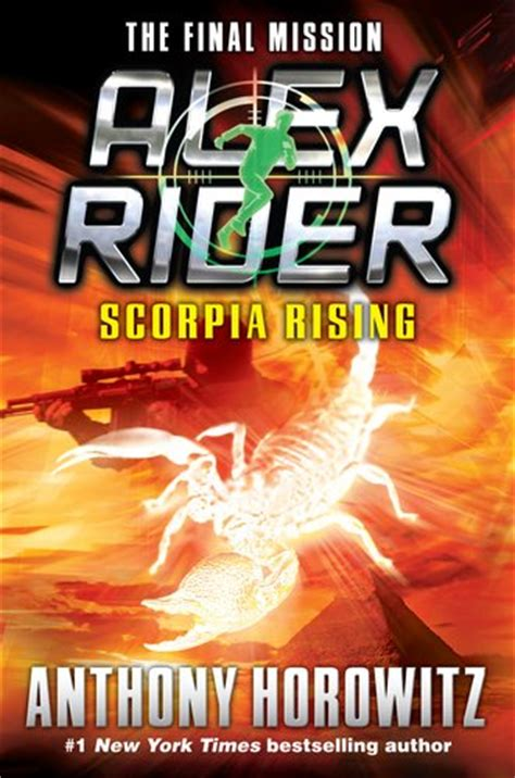stormbreaker book report alex rider scorpia rising by anthony horowitz book