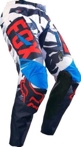 Fox Racing 2016 Youth 180 Vicious Pants Bluewhite | 10 great youth motocross pants