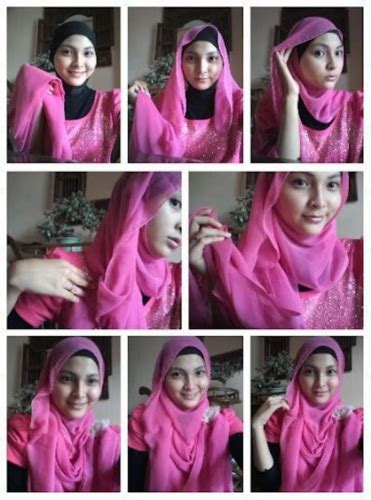 tutorial jilbab segi 4 modis 23 tutorial hijab paris segi empat simple dan modis