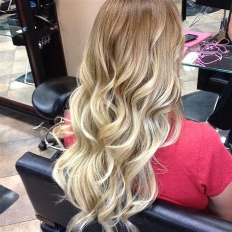 hairstyles blonde tips wavy blonde ombre hairstyles and beauty tips