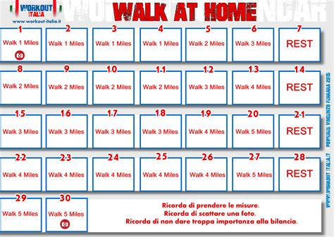 Calendar Home Mi Rimetto In Forma La Esperienza Con Quot Walk At
