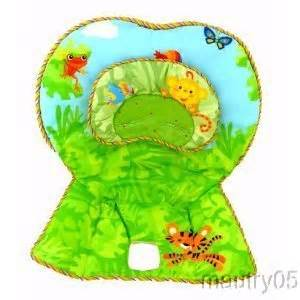 Product name fisher price rainforest high chair replacement cover pad
