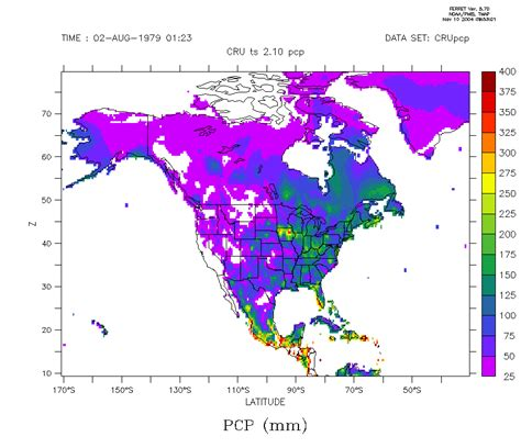 Climate Change Experiment Results by Experiment 0 2 Results Precipitation
