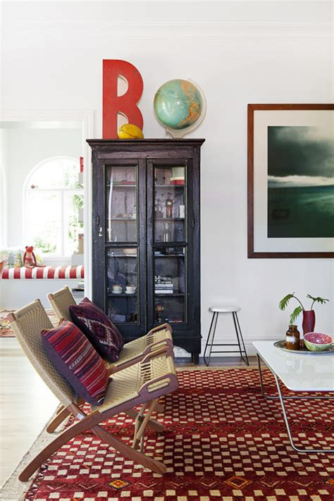 mixing traditional and moroccan rugs braig the design files