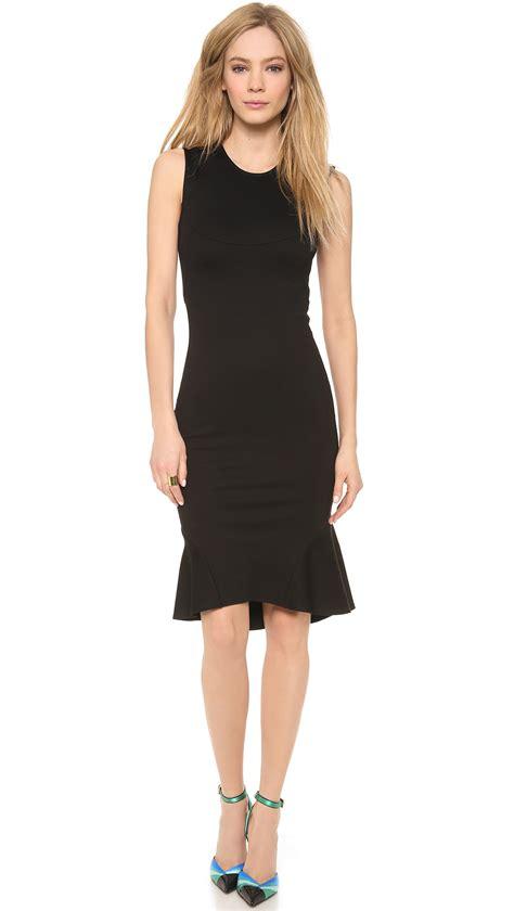 Rossa Dress torn by ronny kobo rosa dress in black lyst