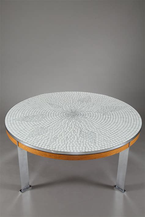 Table Basse Mosaique by Gallery Of Table Basse Ronde Mosaique With Table Basse