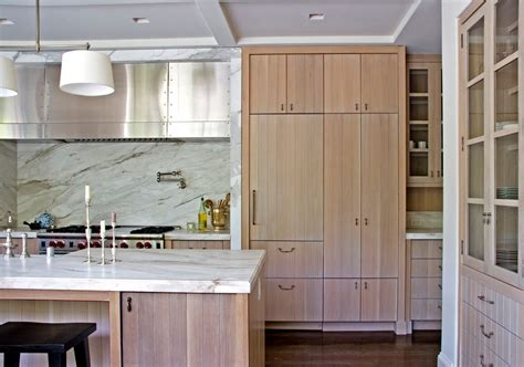 natural oak kitchen cabinets natural oak cabinets kitchen contemporary with range