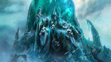 frozen throne wallpaper hd world of warcraft rise of the lich king full hd wallpaper