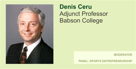 Babson Mba Dates by Denis Ceru 2009 Babson Forum For Entrepreneurship And