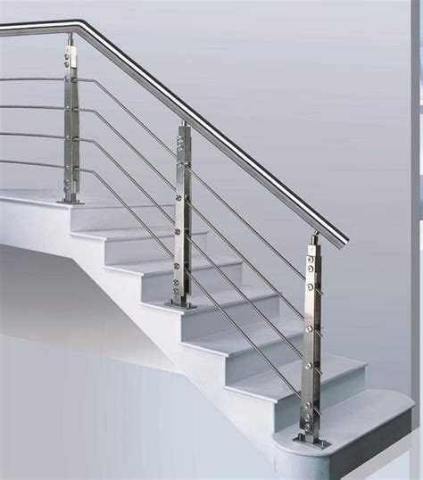steel banister stainless steel handrail stair handrail handrail fittings jpg