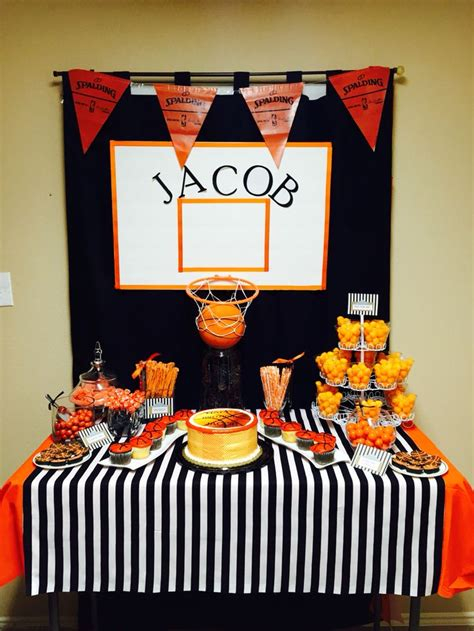 basketball themed decorations best 25 basketball birthday ideas on