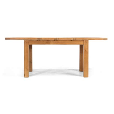 rustic oak dining tables rustic oak 132 198 cm extending dining table lifestyle