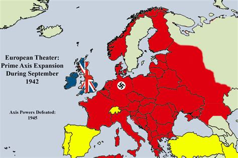 map of europe 1942 european map 1942 by thewarrises on deviantart
