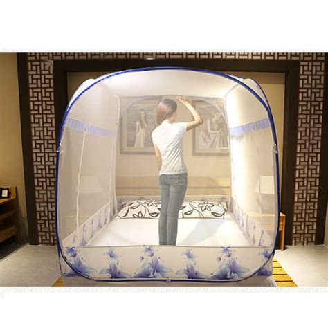 Large Dome Nets Blue large mosquito nets promotion shop for promotional large