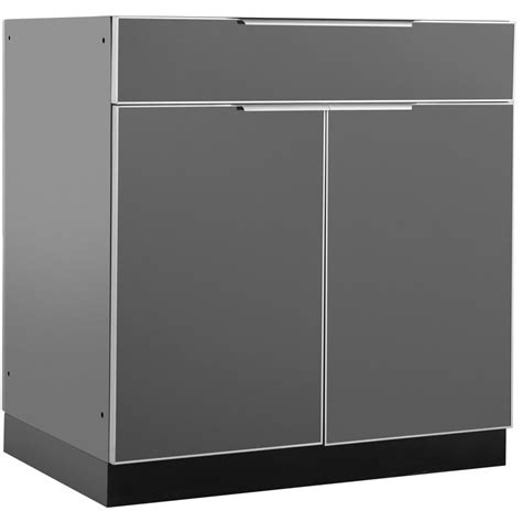 aluminum outdoor kitchen cabinets newage products aluminum slate 32 in bar 32x33 5x23 in