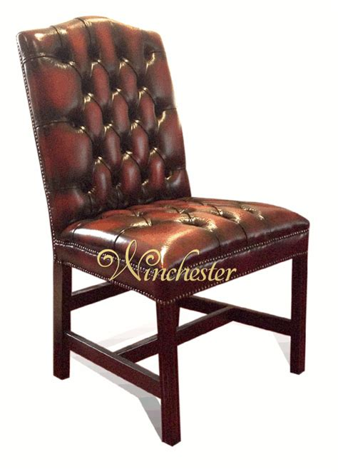 Chesterfield Dining Chair Chesterfield Gainsborough Dining Chair Leather Sofas Traditional Sofas