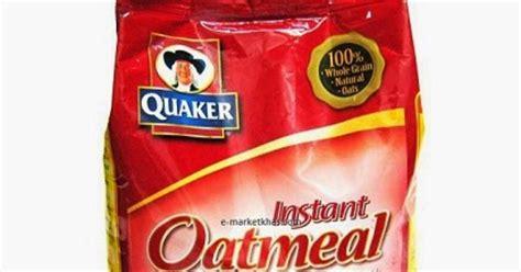 manfaat quaker oat  mengesankan
