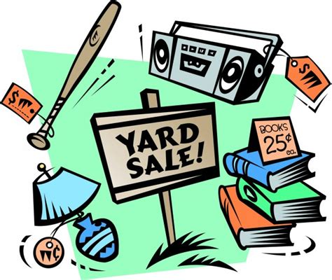 backyard sales yard sales tips to make yours awesome