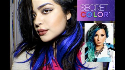 Secret Extensions Hair Colors Secret Extensions Demi Lovato Secret Color Extensions Review And Unboxing