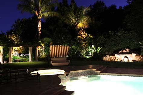 Custom Landscape Lighting Custom Outdoor Lighting Outdoor Low Voltage Landscape Lighting Portfolio Lighting Pools Decks