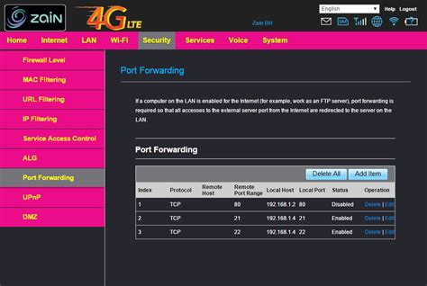 port forwarding in router port forwarding portforwarding is not working in e5172