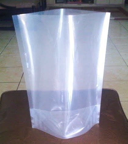 Standing Pouch Transparan Stand Pouch kemasan stand up pouch untuk cooking plastik kemasan