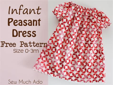 peasant dress pattern infant infant peasant dress free pattern and tutorial
