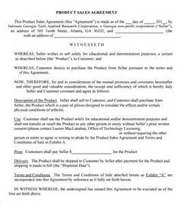 Business Sales Agreement Template Free Sales Agreement 6 Free Pdf Doc Download