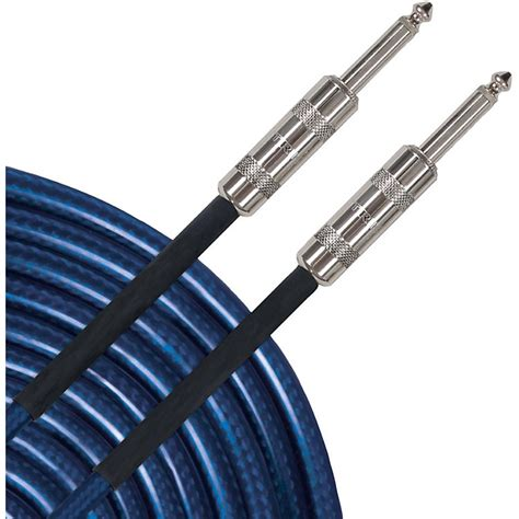 live wire advantage aixb instrument cable blue 10 ft blue
