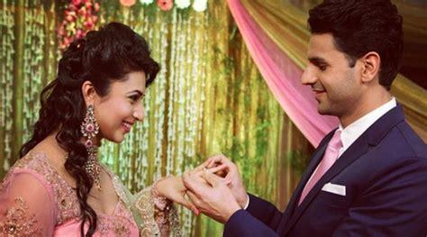 divyanka tripathi and vivek dahiya engagement watch divyanka tripathi vivek dahiya dance romantically