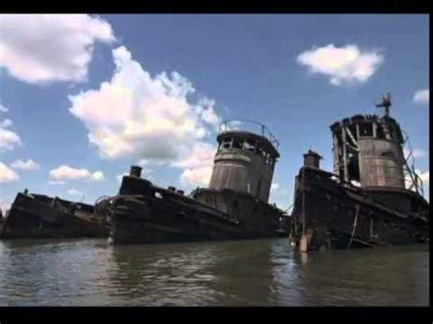 tugboat island staten island tugboat graveyard youtube