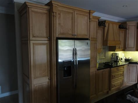 kitchen cabinets around refrigerator cabinets around fridge kitchen pinterest