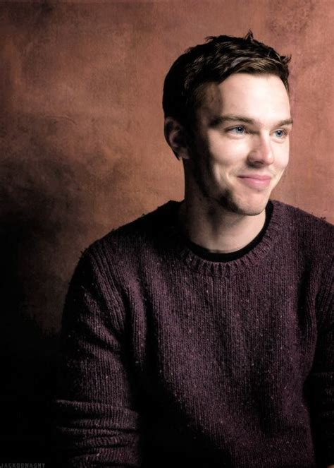 Cause Of Nicoles To Be Announced Monday by Nicholas Hoult Yes I A Weakness For The Cheekboney