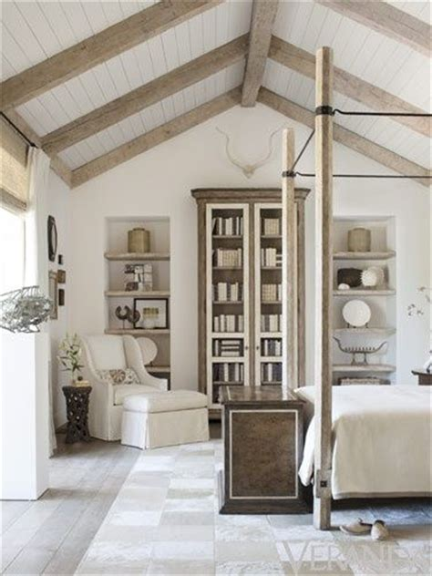 White Ceiling Beams Decorative by White Washed Beams Beadboard Beautiful Blossoms