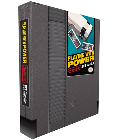 playing with power un libro sobre nes con forma de cartucho el chapuzas inform 225 tico