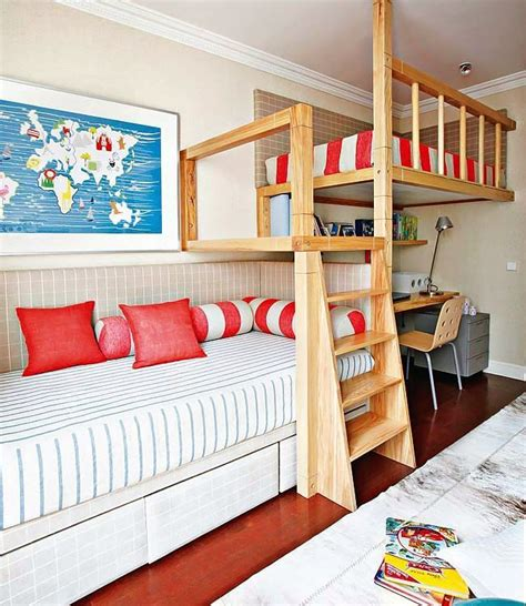 16 loft beds to make your small space feel bigger brit co kids room to go bunk beds woodworking projects plans