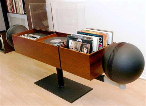 Tv Wall Unit by Spin That Vinyl Modern Record Player Setups