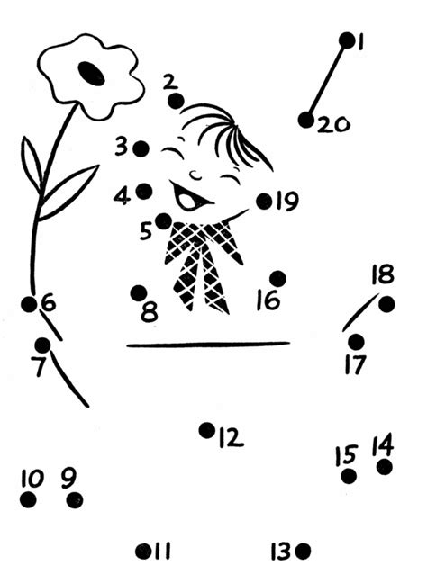 printable dot to dot up to 20 bluebonkers dot to dot coloring pages up to 20 dots 13