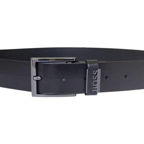 Hugo Bos Black hugo black senol black leather belt hugo black