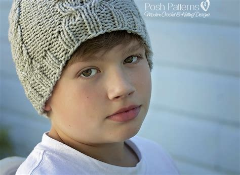 knit kid hat pattern knitting pattern cable hat knit cable beanie