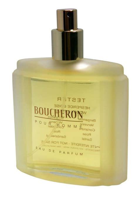 boucheron pour homme cologne perfume 3 4 oz 100ml eau de parfum spray tester ebay