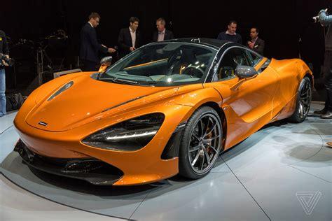 mclaren 720s mclaren s top priorities with the new 720s aerodynamics