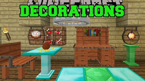 Minecraft Decoration Mod by Decocraft 2 Mod For Minecraft 1 9 4 1 8 9 1 7 10 And 1 6
