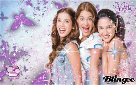 imagenes de amistad violetta violetta y sus amigas fotograf 237 a 131191371 blingee com