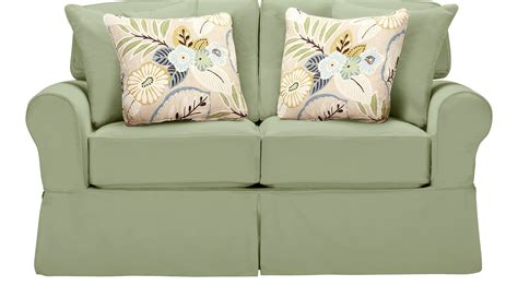 cindy crawford loveseat 679 99 beachside green loveseat classic casual cotton