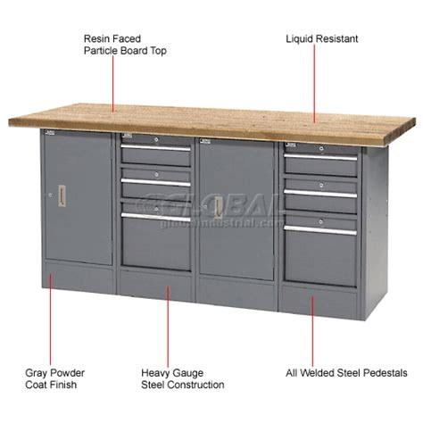 Shop Top Drawer by Cabinet Work Benches Heavy Duty 72 Quot W X 30 Quot D Shop Top 6